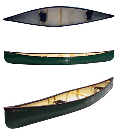 Hou 16 ft Prospector Open Canoe