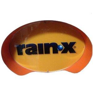 """Oval Sign: """"RainX®"""""""