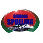 "Oval Sign: ""Osmose Spoeling"""