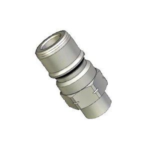 """Snelkoppelingnippel RVS 316 3/8""""M"""