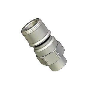 """Snelkoppelingnippel RVS 316 1/4""""M"""