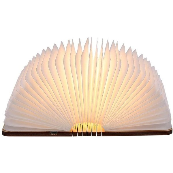 booklamp walnoot