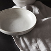 schaal Pion, grijs wit, 19 cm