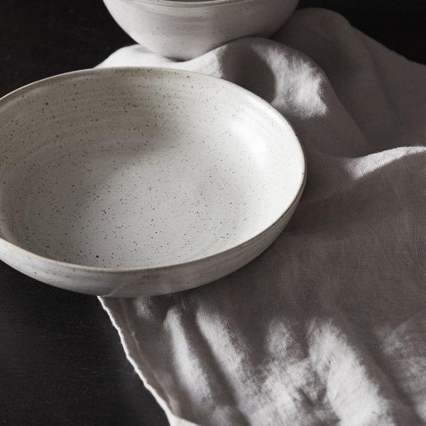 House Doctor schaal Pion, grijs wit, 19 cm