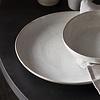 dinerbord Pion, grijs wit,  28,5 cm