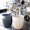 koffiebeker met deksel  - naturel