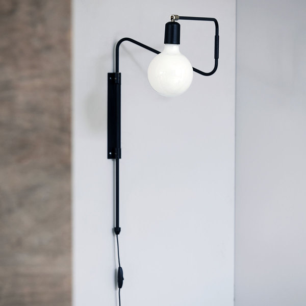 House Doctor wand lamp Swing