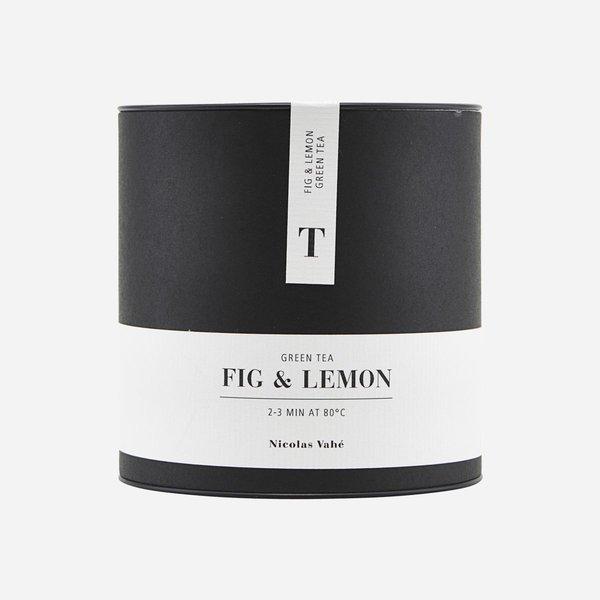 Nicolas Vahe groene thee - Fig & Lemon