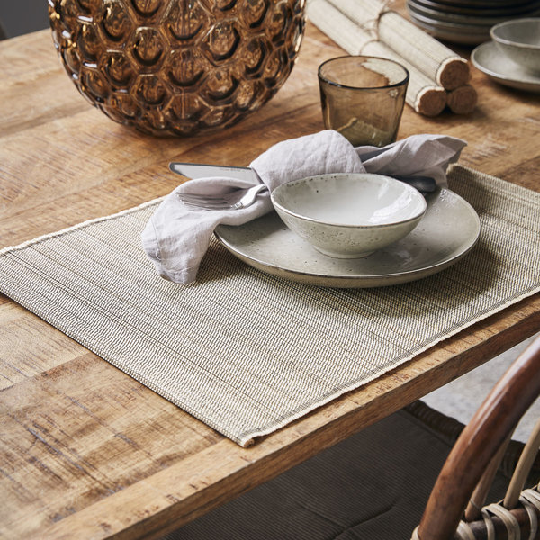 House Doctor placemat , bamboo