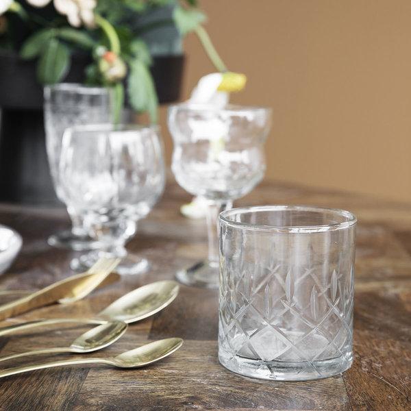 House Doctor whisky glas, Vintage