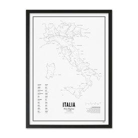 Wijck poster wijn collectie - Italie
