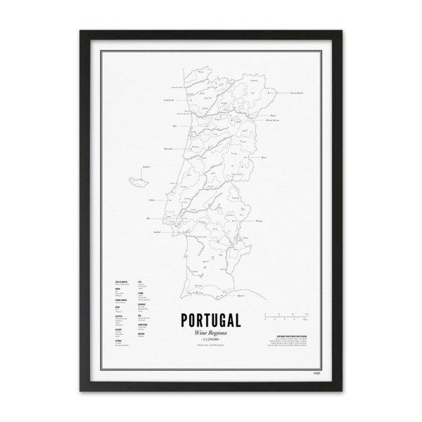 Wijck poster wijn collectie - Portugal