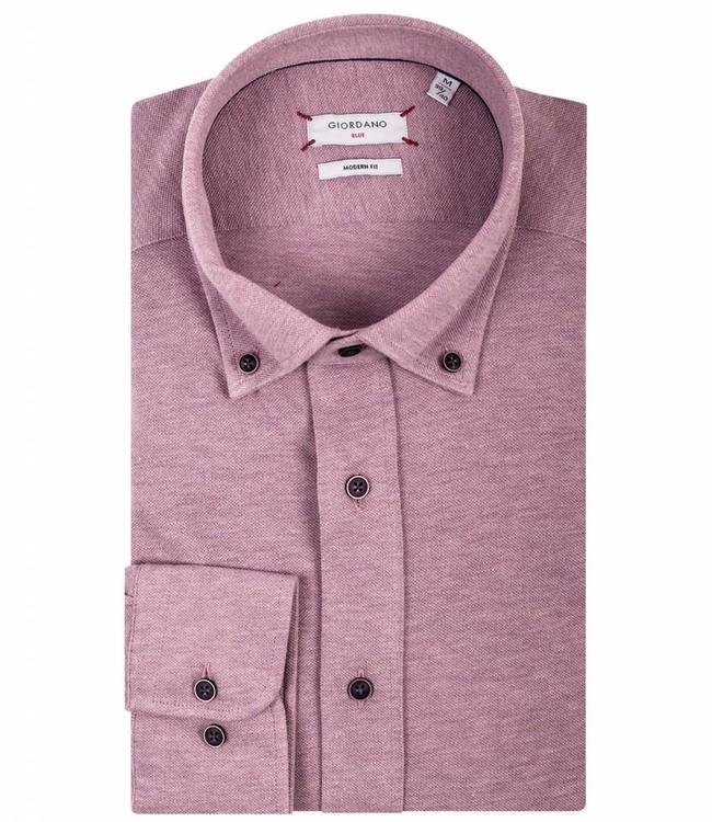 Roze Overhemd.Giordano Blue Roze Overhemd Jersey Knitted Shirtsupplier Nl