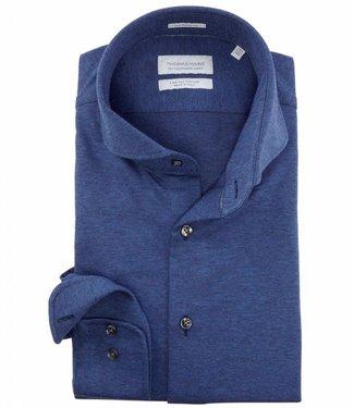 Thomas Maine donkerblauw overhemd jersey
