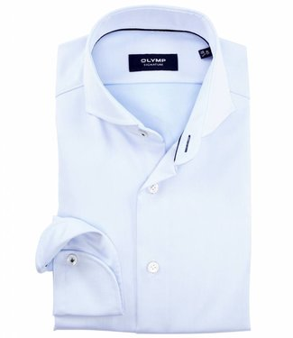Olymp signature strijkvrij overhemd Sano lichtblauw