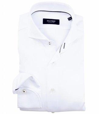 Olymp signature strijkvrij overhemd Sano premium wit