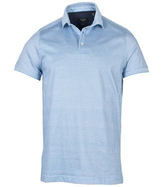 Giordano Tailored polo blauw werkje