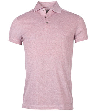Thomas Maine polo rood tailored fit