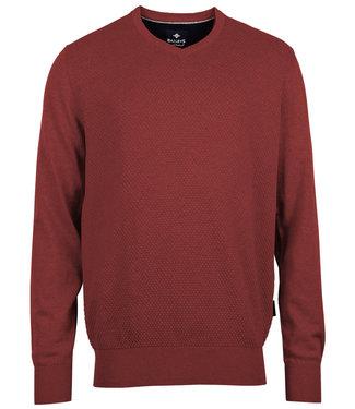 Baileys new red katoenen v-hals heren trui