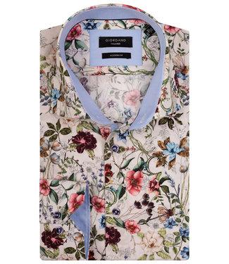 Giordano Tailored ecru tutti colori multicolour bloemenprint