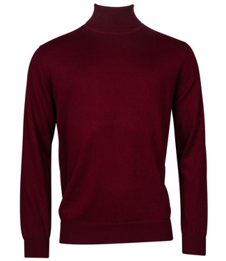 Baileys coltrui Pullover bordeaux rood Roll Neck