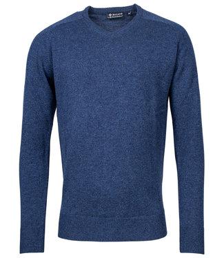 Baileys kobaltblauw v-hals heren trui