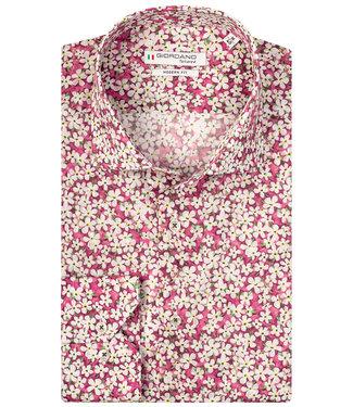 Giordano Tailored wit het roze groen print