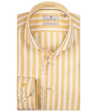 Thomas Maine geel-wit brede streep