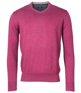 Baileys v-hals trui Pullover roze dark fuchsia melee V-Neck