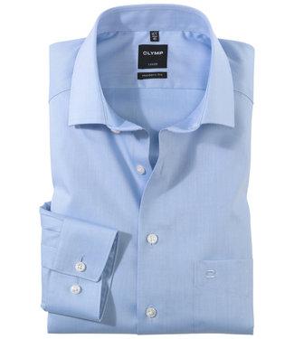 Olymp strijkvrij heren overhemd lichtblauw