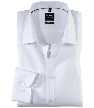 Olymp strijkvrij heren overhemd wit