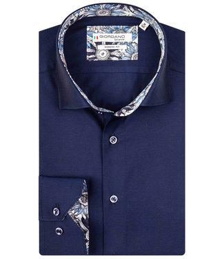 Giordano Tailored donkerblauw met donkerblauwe knopen
