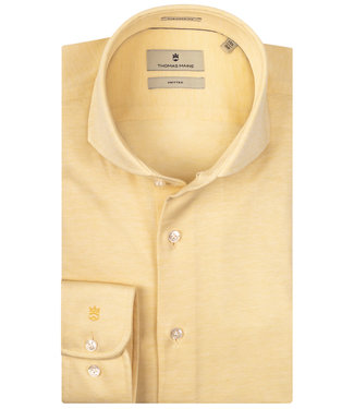 Thomas Maine geel jersey 1 knoops cut away