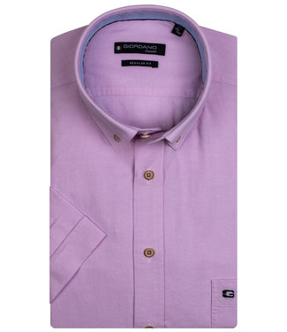 Giordano Regular Fit roze oxford