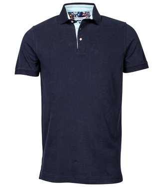 Giordano Tailored polo donkerblauw