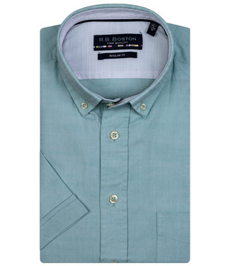 Giordano Regular Fit mintgroen button down