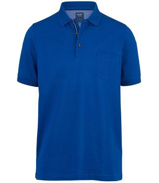 Olymp kobaltblauw polo