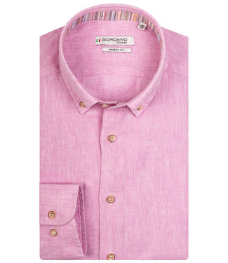 Giordano Tailored roze linnen