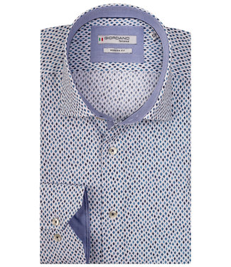 Giordano Tailored blauwe print