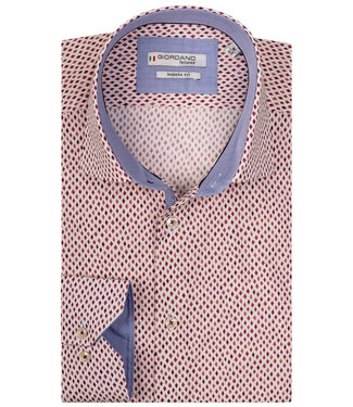 Giordano Tailored rode print