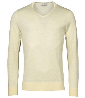 Thomas Maine heren bright licht geel v-hals trui