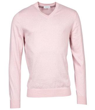 Thomas Maine heren licht roze v-hals trui