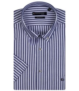 Giordano Regular Fit blauw-wit streepje