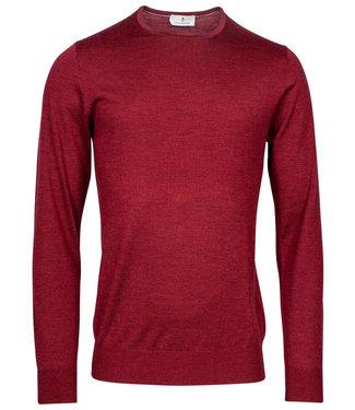 Thomas Maine heren rood ronde hals trui