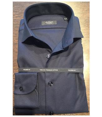 Olymp signature strijkvrij overhemd donkerblauw