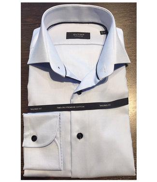 Olymp signature strijkvrij overhemd lichtblauw