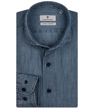 Thomas Maine jeans blauw indigo blauw albiate
