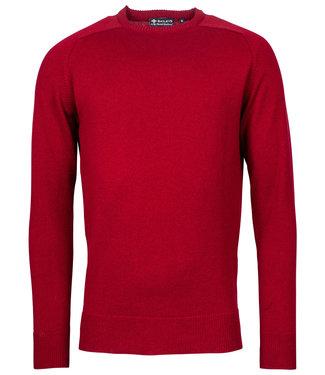 Baileys rood ronde hals heren trui