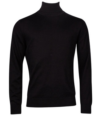 Baileys coltrui Pullover zwart Roll Neck