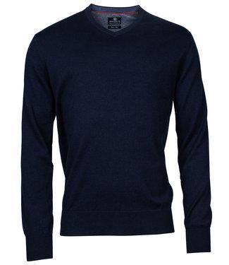 Baileys v-hals trui Pullover donkerblauw